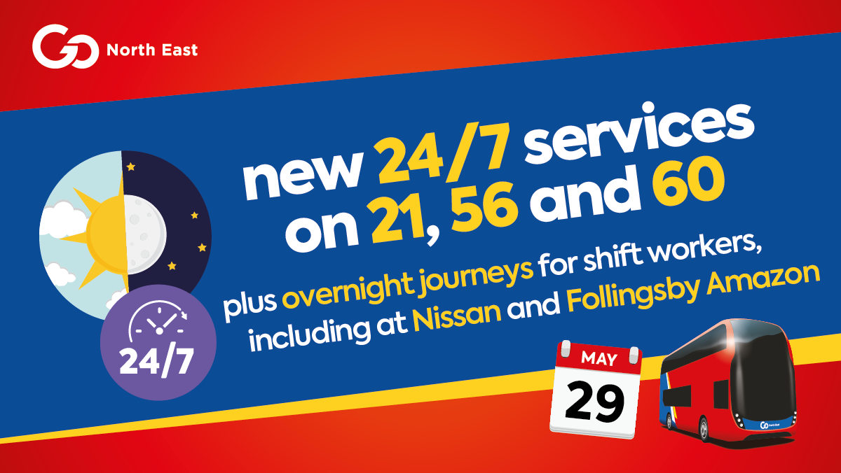 New 24/7 services