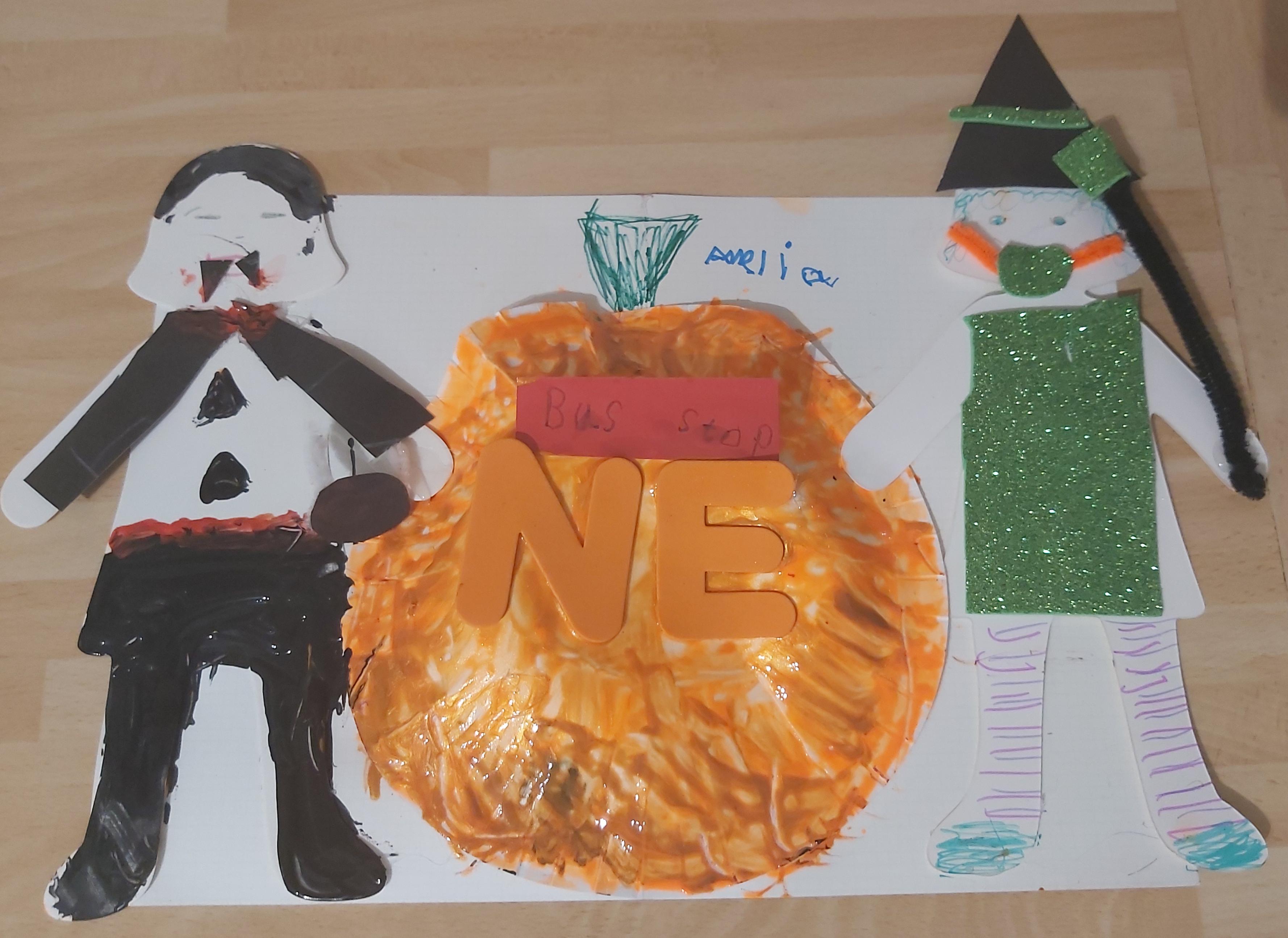 Halloween poster - Amelia, age 7
