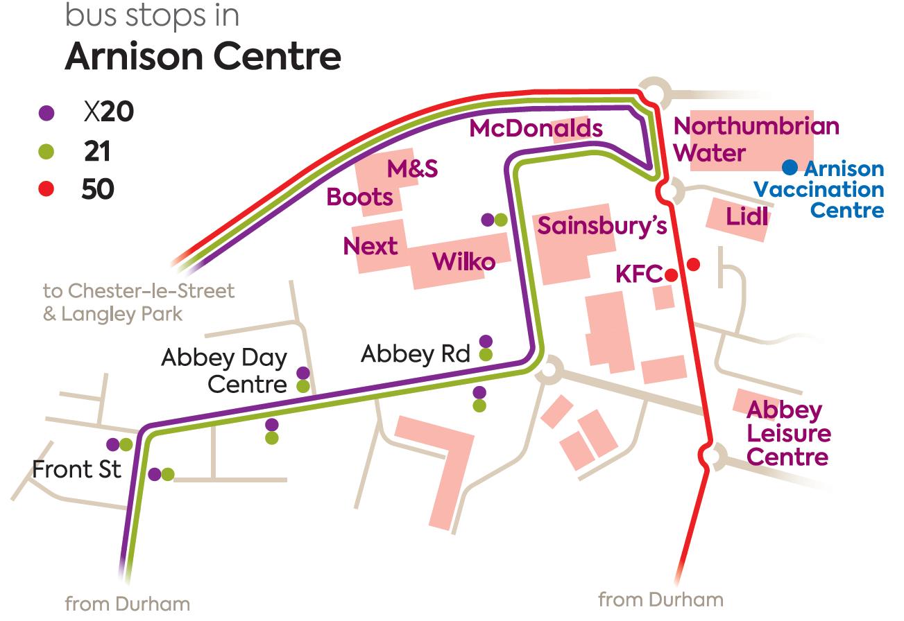 Arnison vaccination centre