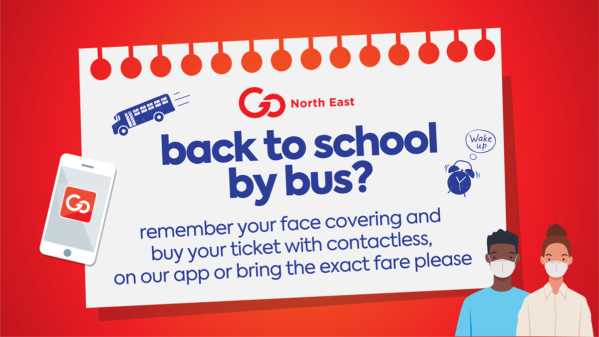 back to school by bus