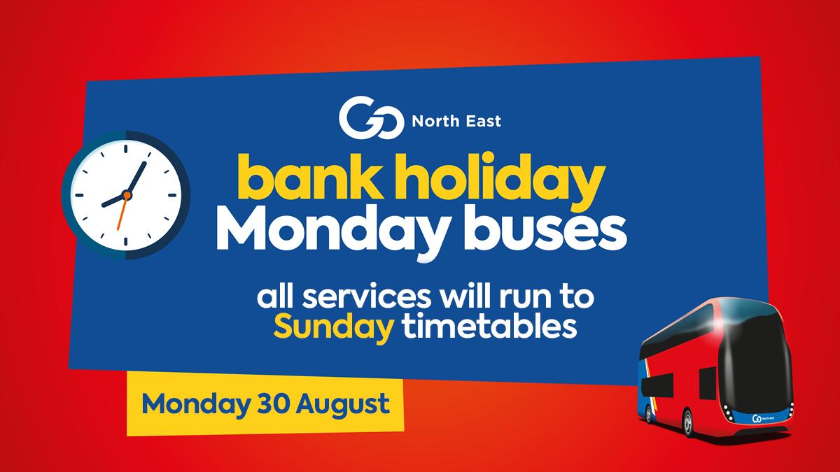 bank holiday buses