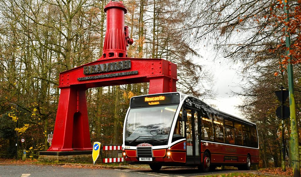 Beamish Museum bus