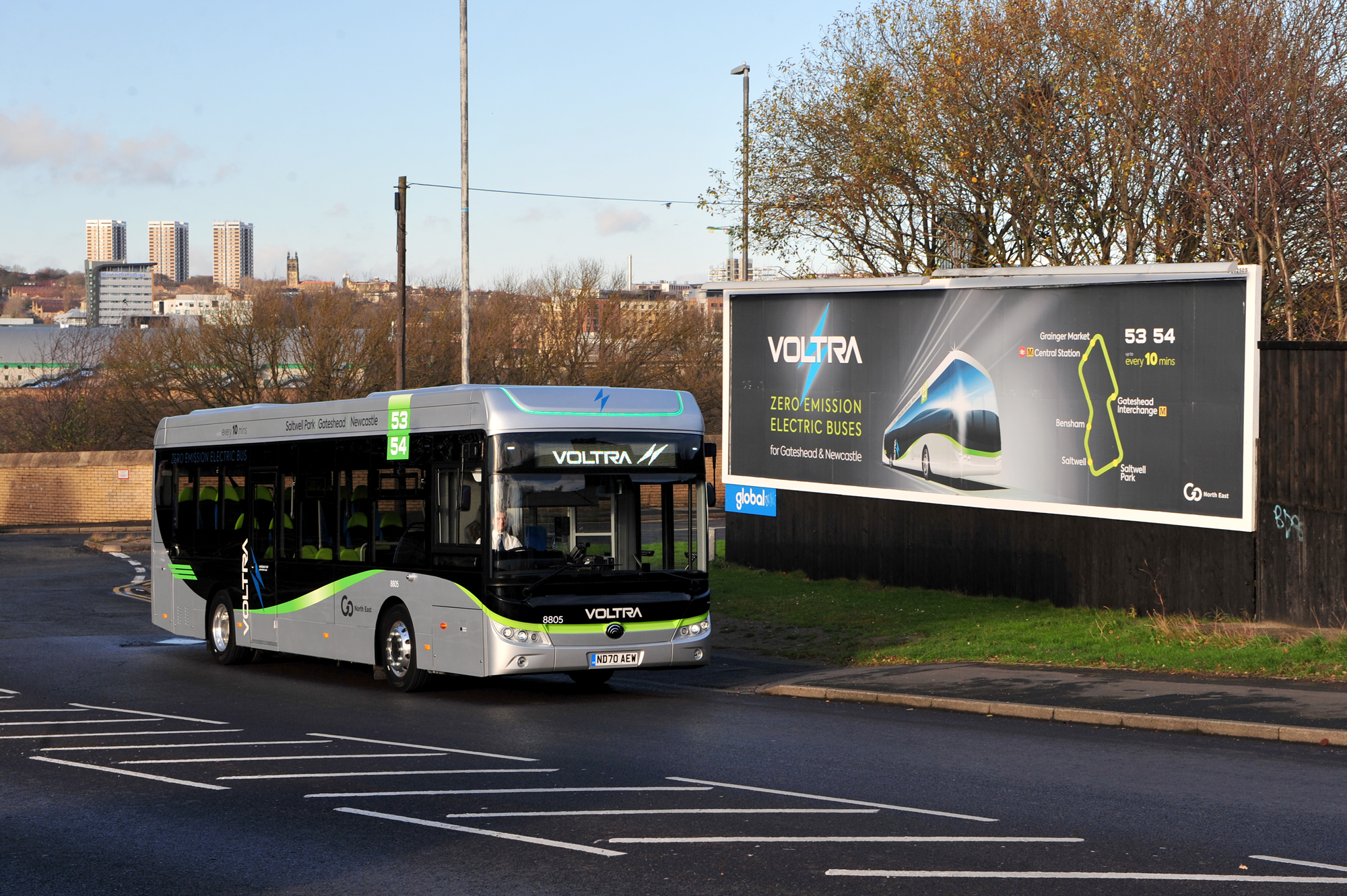 Voltra electric bus