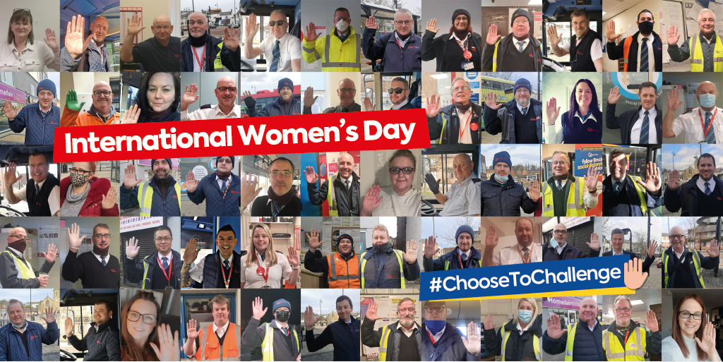 International Women's Day - 'Choose to Challenge' pose