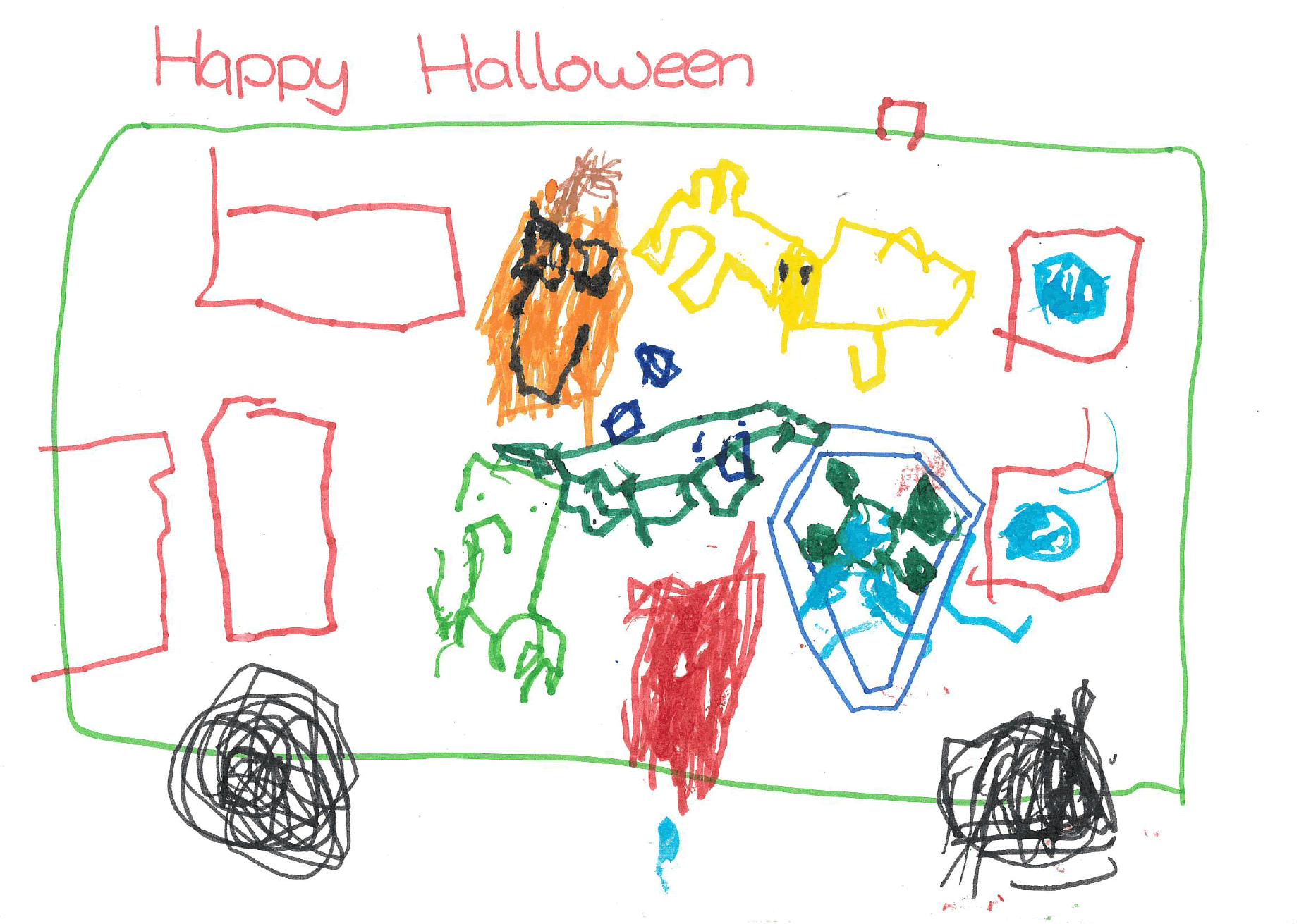Halloween poster - Leon, age 10