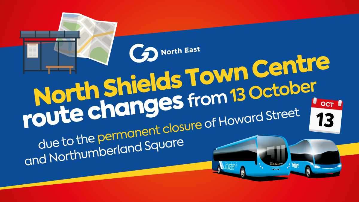 North Shields route changes