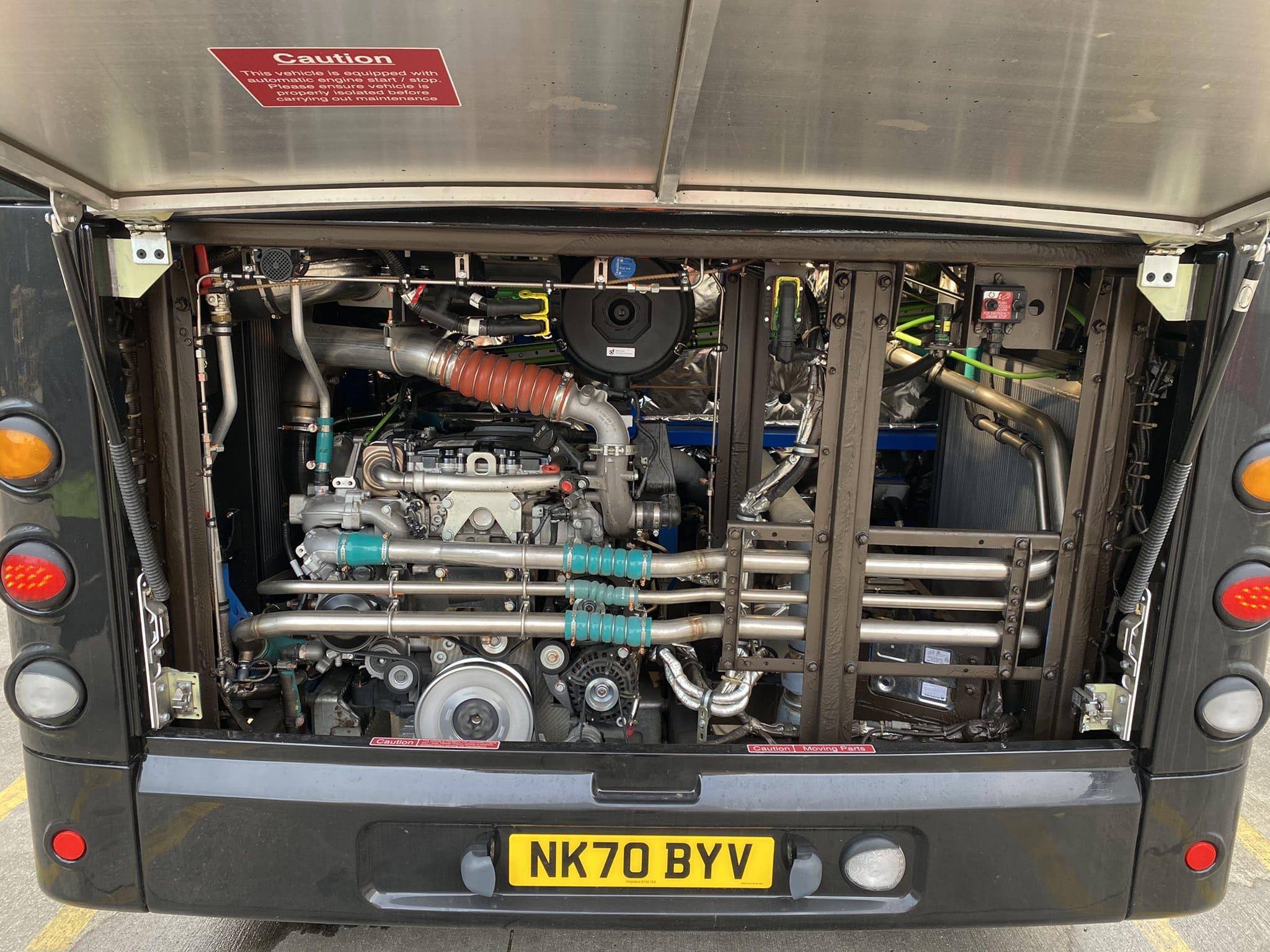 StreetDeck engine