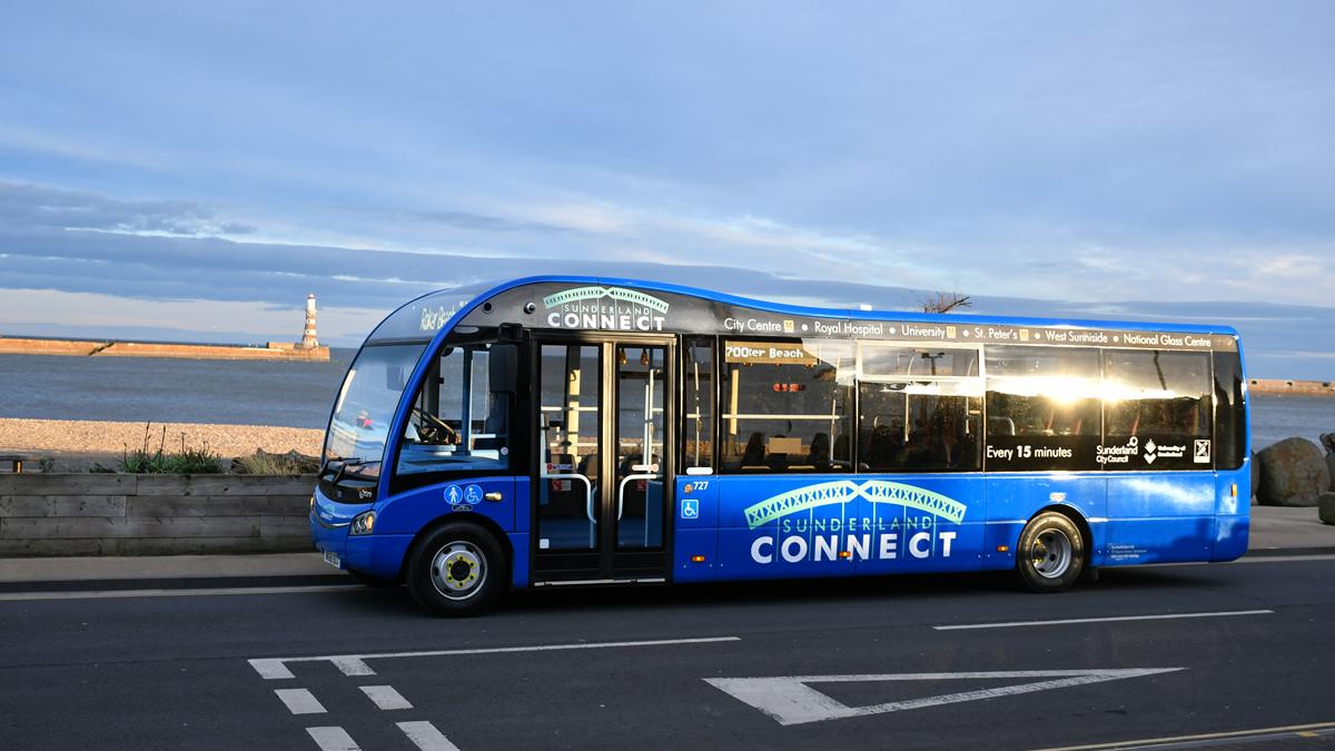 Sunderland Connect bus