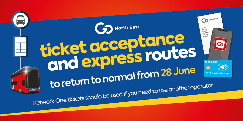 ticket acceptance and express routes