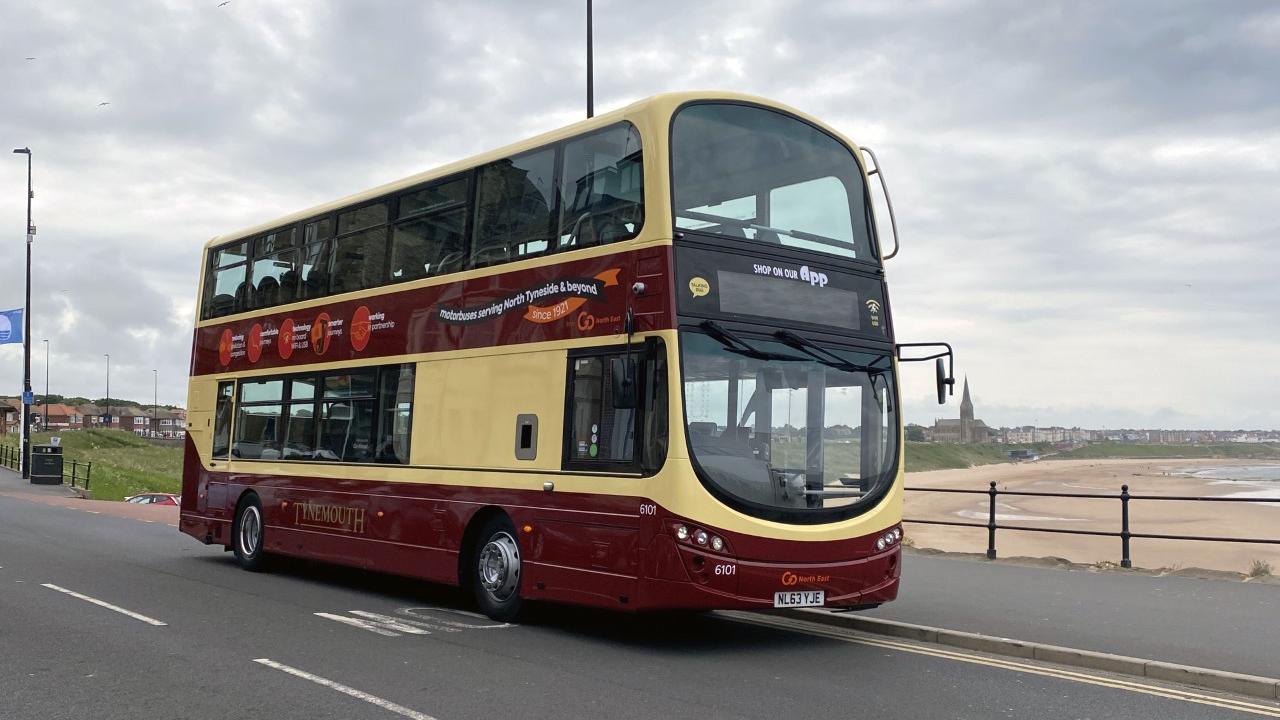 Tynemouth bus