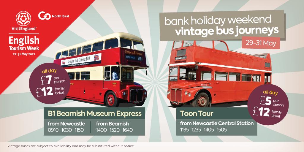 Bank holiday vintage buses