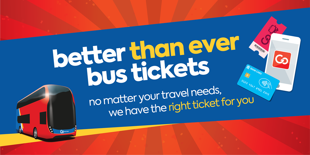 Better than ever bus tickets