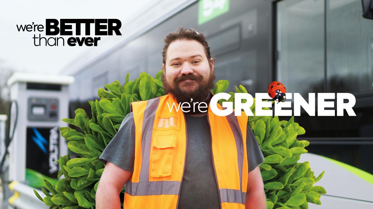 We're greener