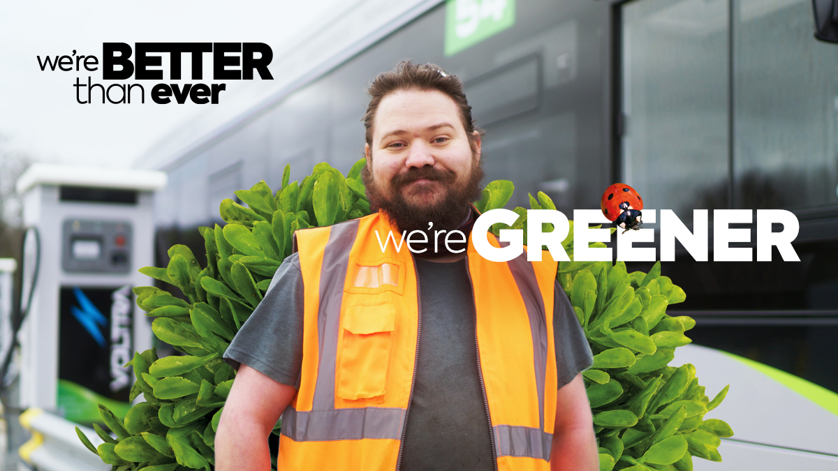 We're greener than ever